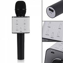 Беспроводной Bluetooth караоке-микрофон Q7 | Черный, фото 3