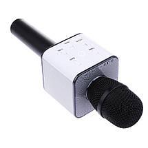 Беспроводной Bluetooth караоке-микрофон Q7 | Черный, фото 2