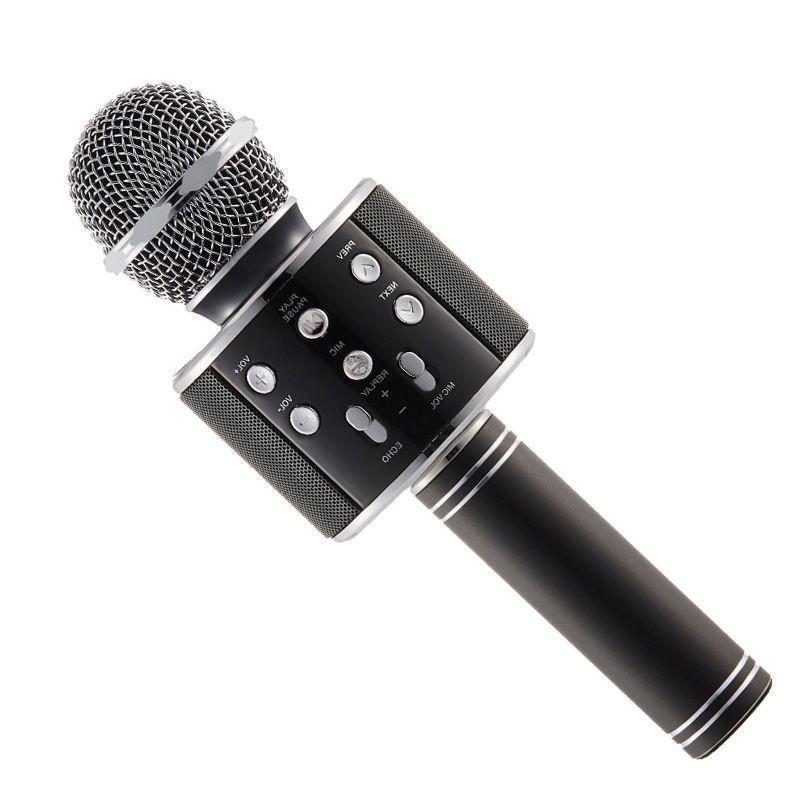 Бездротовий мікрофон WS-858 | Чорний