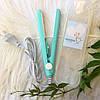 Дорожній міні-утюжок для волосся в коробці Gemei 2990 | Компактний утюжок, фото 3