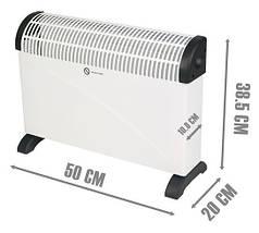 Конвектор дуйка обогреватель Domotec Heater MS 5904, фото 3