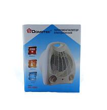 Тепловентилятор обогреватель дуйка Domotec Heater MS 5901, фото 3