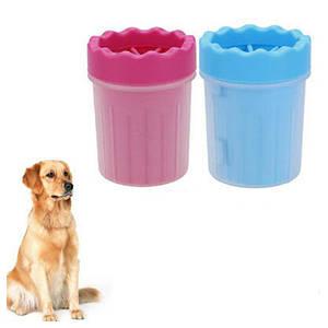 Лапомойка для собак и кошек Soft Gentle Silicone Bristles 11 см | Прибор для мытья лап