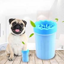 Лапомойка для собак и кошек Soft Gentle Silicone Bristles 11 см | Прибор для мытья лап, фото 2