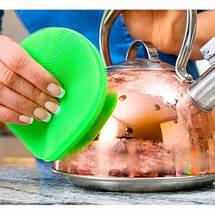 Кухонні силіконові щітки Better Sponge | Набір силіконових щіток для будинку, фото 2