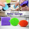 Кухонні силіконові щітки Better Sponge | Набір силіконових щіток для будинку, фото 3