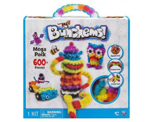 Конструктор липучка Bunchems 600 деталей | Конструктор для детей Банчемс, фото 2