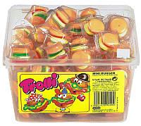 Жевательные бургеры  Trolli Германия 600гр. упаковка 60шт