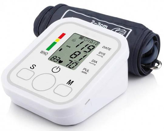 Электронный измеритель давления Electronic Blood Pressure Monitor Arm style   тонометр, фото 2