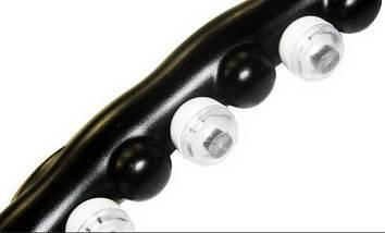 Масажний спортивний обруч Hula Hoop Professional для схуднення | Обруч з масажними роликами, фото 3