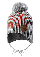 Зимняя шапка-бини для девочки Reima Weft 518536-3220. Размеры 46 - 52., фото 1