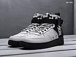 Чоловічі кросівки Nike SF Air Force 1 Mid (сірі), фото 2