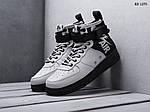 Чоловічі кросівки Nike SF Air Force 1 Mid (сірі), фото 3