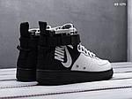 Чоловічі кросівки Nike SF Air Force 1 Mid (сірі), фото 5