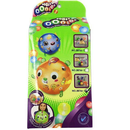 Дополнительный набор для создания игрушек Oonies | Конструктор из надувных шариков, фото 2