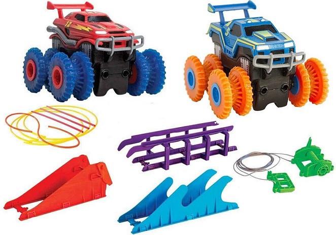 Trix Trux - трасса Монстр траки | 2 машинки в комплекте