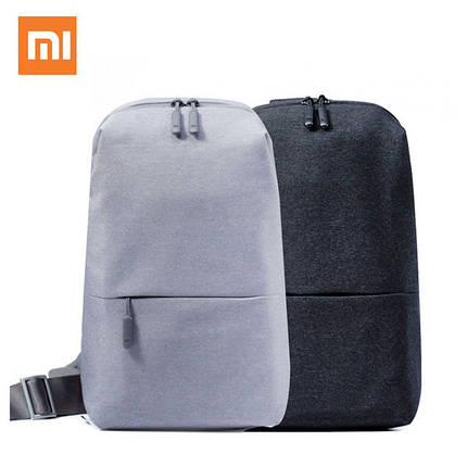 Сумка XIAOMI через плечо mini | Мини рюкзак Xiaomi Urban Backpack с одной лямкой, фото 2