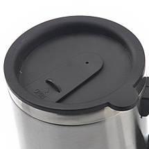 Автомобільна гуртка з підігрівом Electric Mug 12V CUP   Термочашка, фото 2