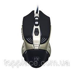 Мышь игровая Jiexin X13 RGB USB Black/Silver (G101001188)