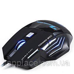 Мышь игровая Jiexin X11 RGB USB, Black (G101001187)