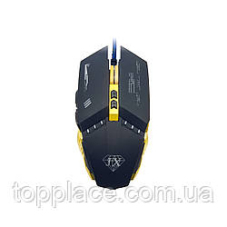 Мышь игровая Jiexin X10 RGB USB, Black (G101001186)