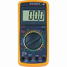 Мультиметр тестер амперметр вольтметр DT 9208, фото 3