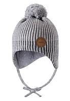 Зимняя шапка-бини для девочки Reima Weft 518536-0100. Размеры 46 - 52., фото 1