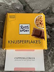 Ritter Sport Knusperflakes с кукурузными хлопьями
