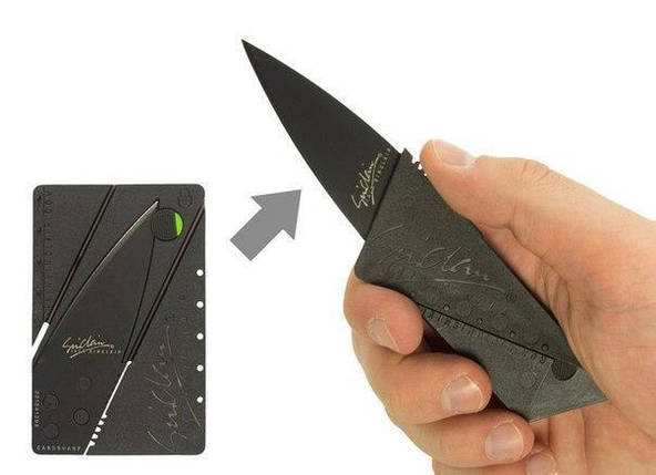 Складаний ніж - кредитка CardSharp (Кард-шип), фото 2