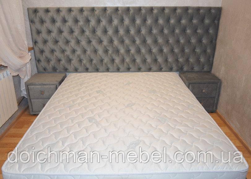 Каретная стяжка изголовье кровати