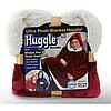 Толстовка - плед з капюшоном HUGGLE HOODIE BLANKET | Плед з рукавами, фото 4