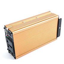 Автомобильный преобразователь напряжения инвертор AC/DC SSK 1000W 24V, фото 3