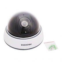 Камера відеоспостереження муляж купольна DS - 1500B, фото 3