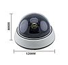 Камера відеоспостереження муляж купольна DS - 1500B, фото 4