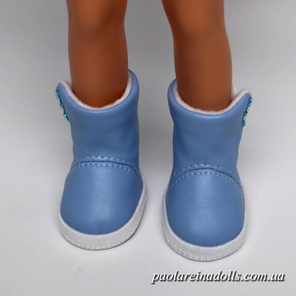 Сапожки голубые для кукол Паола Рейна