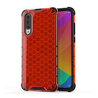 Накладка для Xiaomi Mi A3 Transformer Honeycomb Red