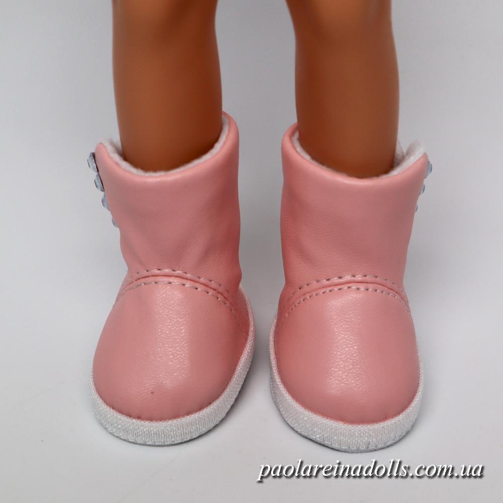 Сапожки розовые для кукол Паола Рейна