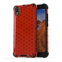 Накладка для Xiaomi Redmi 7A Transformer Honeycomb Red