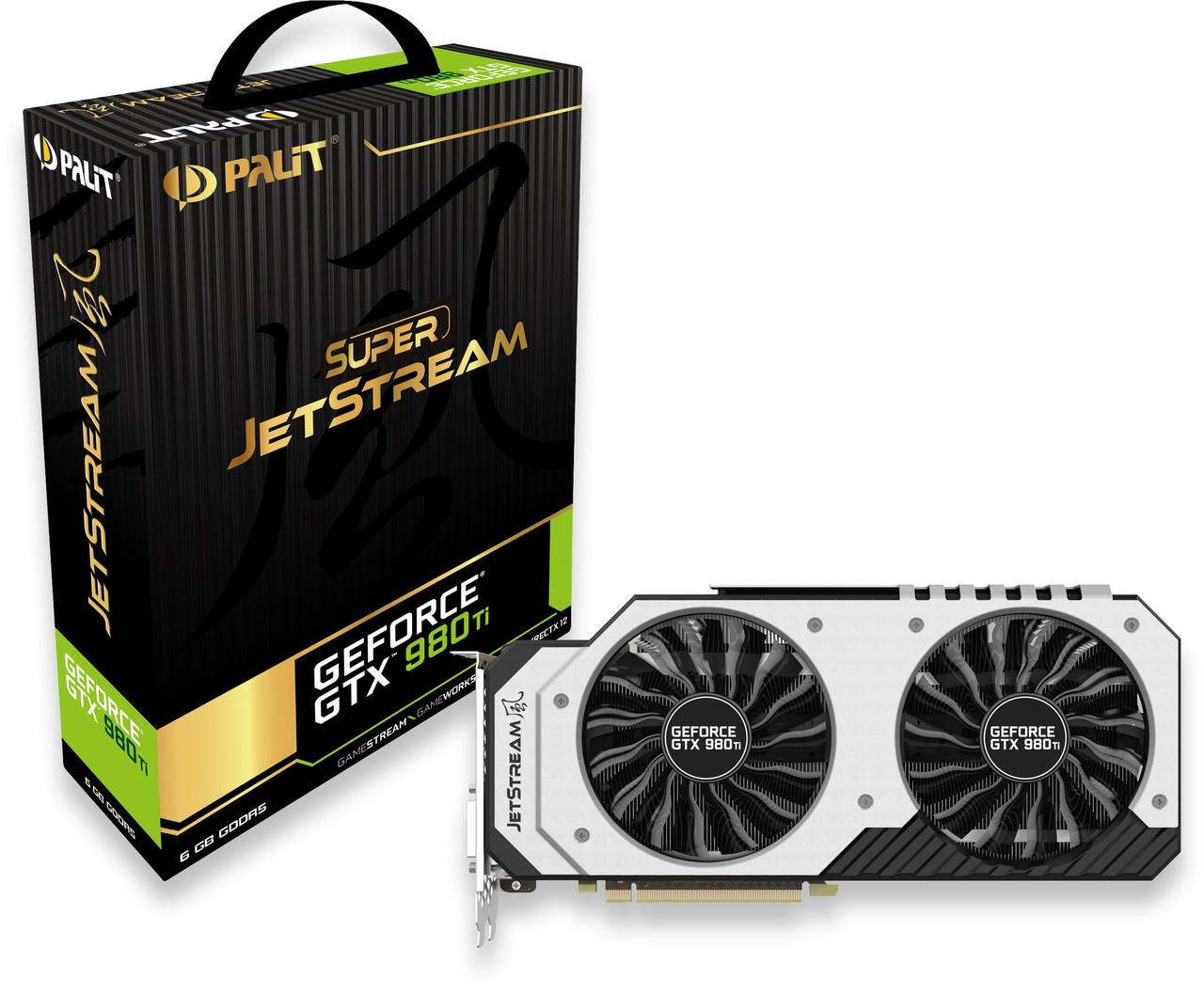 "Видеокарта Palit GeForce GTX 980 Ti SUPER JETSTREAM (NE5X98TH15JB) ""Over-Stock"" Б/У"