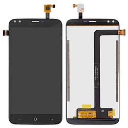 Дисплейный модуль (дисплей и сенсор) для Doogee X30, черный, оригинал