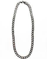 Чоловіча ланцюг зі срібла Beauty Bar 60 см панцирні плетіння 82 грами