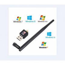Безпровідний Wi-Fi USB адаптер WIFI антена USB 802.1 IN WF-2 | Wi-Fi адаптер, фото 2