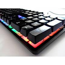 Проводная клавиатура с подсветкой KEYBOARD HK-6300, фото 2