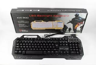 Провідна ігрова клавіатура з підсвічуванням KEYBOARD GK-900, фото 2