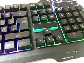 Провідна ігрова клавіатура з підсвічуванням KEYBOARD GK-900, фото 3