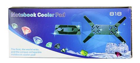 Охолоджуюча підставка для ноутбука 818 F506   Підставка для ноутбука, фото 3
