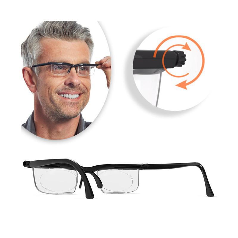 Універсальні окуляри для зору Dial Vision   Окуляри з регулюванням лінз