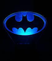 Съемная пластина к ночнику Светляччок Бэтмен ЛОГО (00144(ПЛ))