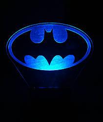 Зйомна пластина до нічника Светляччок Бетмен ЛОГО (00144(ПЛ))