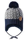 Зимняя шапка-бини для мальчика Reima Pakkas 518537-6981. Размеры 46 и 48., фото 2
